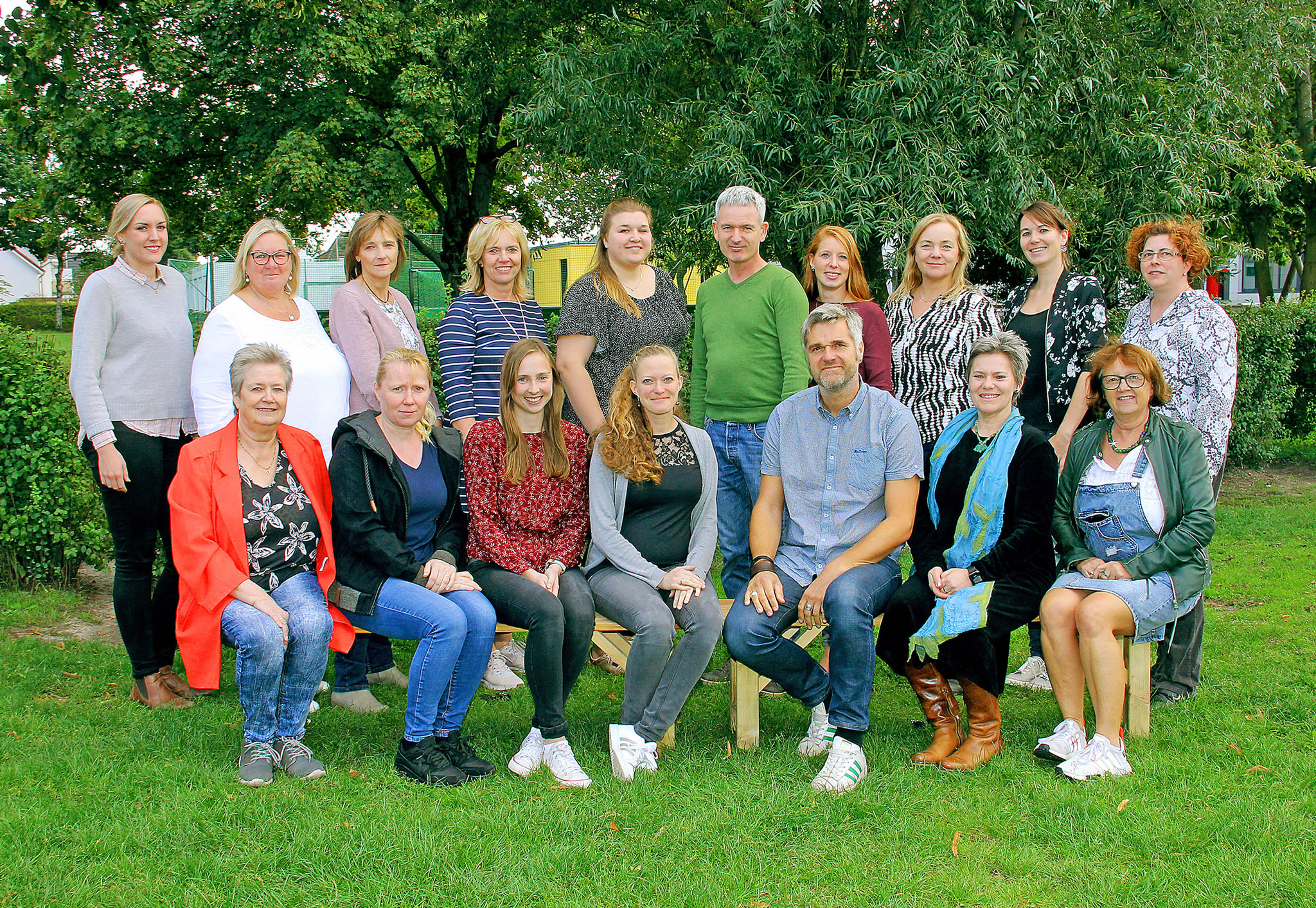 Kollegium 2019 Hermann-Allmers-Schule